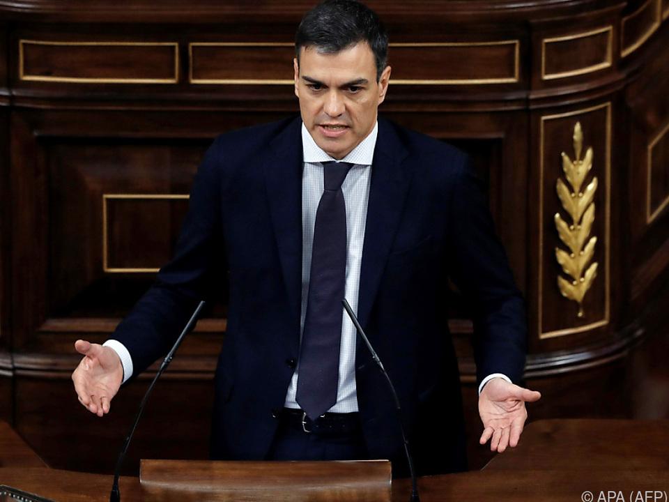 Der Sozialist Pedro Sanchez ist neuer Premier Spaniens