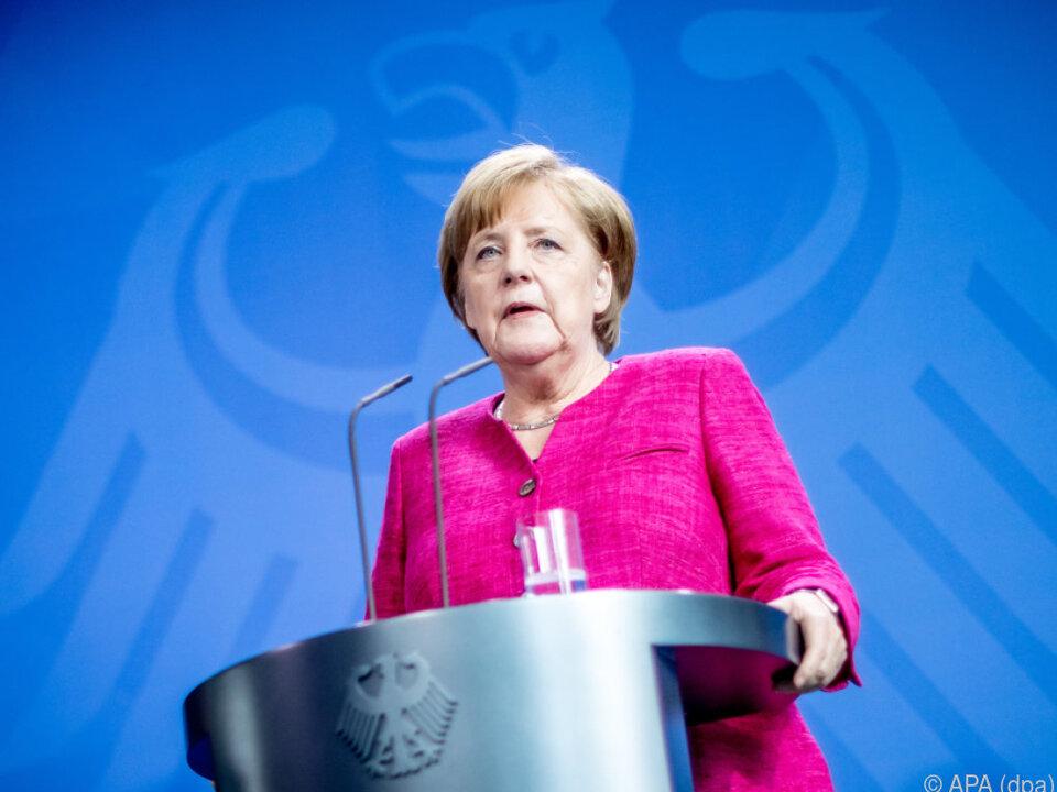 Deutsche Kanzlerin will Maßnahmen gegen illegale Zuwanderung