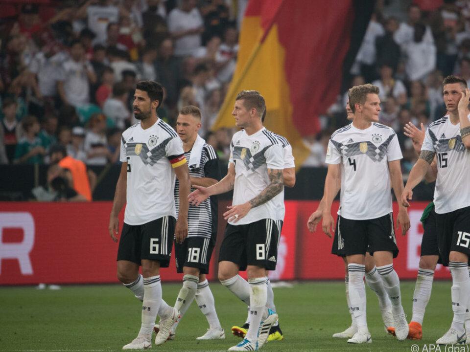 Deutschland will Ruf als Turniermannschaft gerecht werden