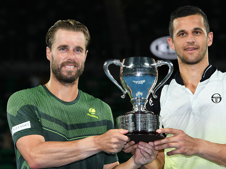 Die Melbourne-Sieger Marach/Pavic siegen weiter