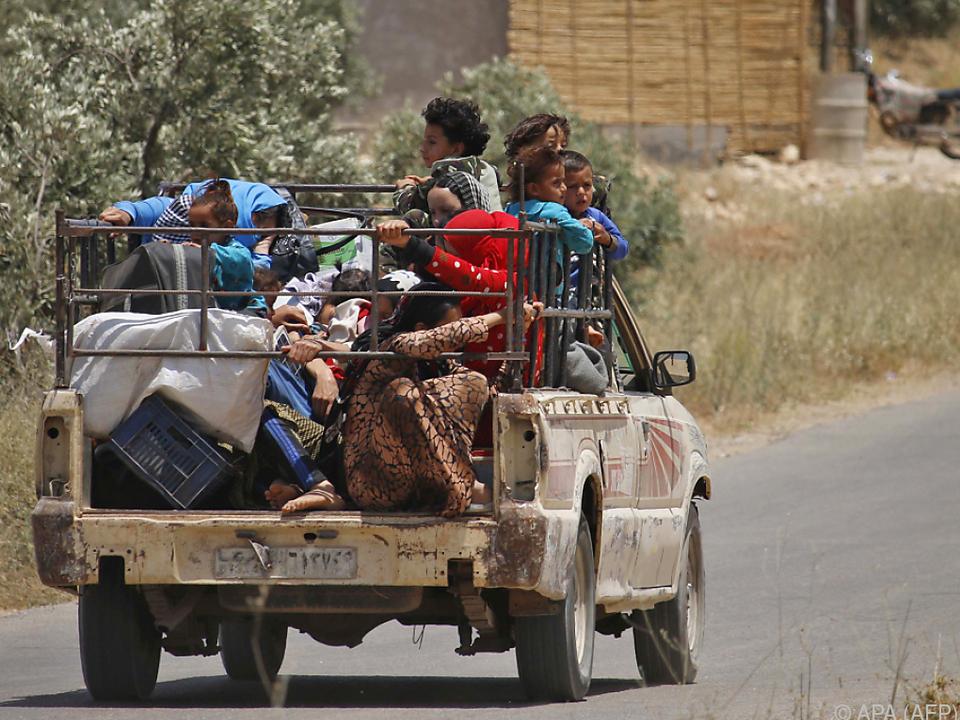 Die Provinz Daraa wird noch von Aufständischen kontrolliert