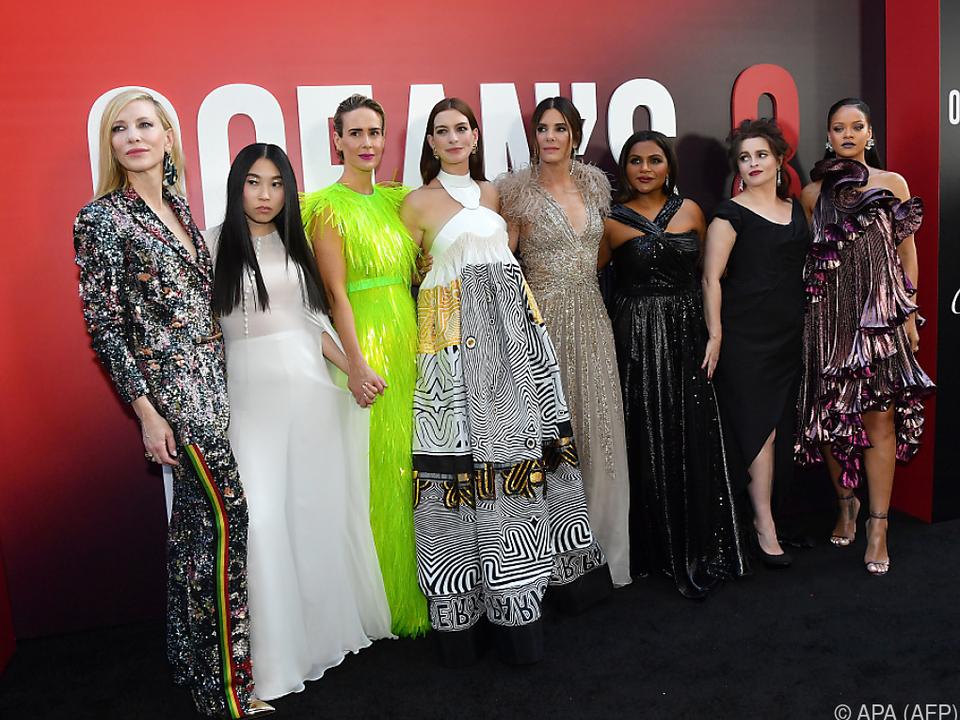 Diese Damen locken viele Besucher ins Kino