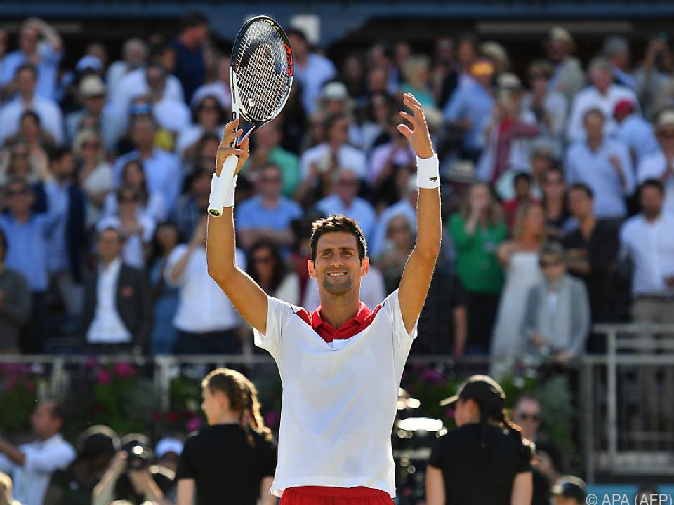 Djokovic ist erst der zehnte Spieler in der Ära, dem das gelang