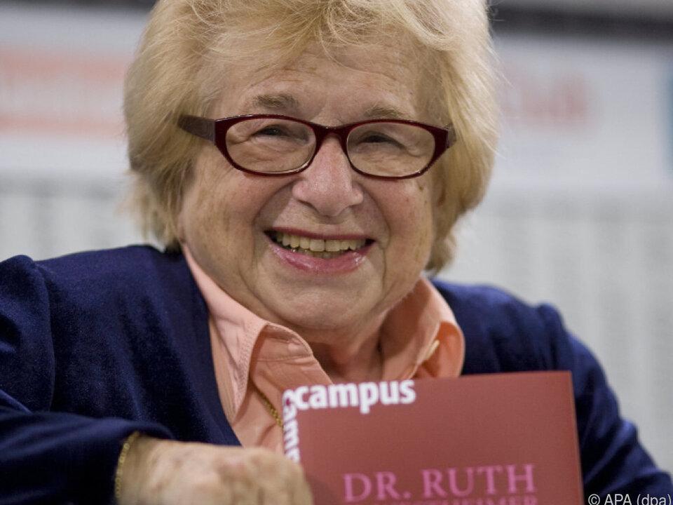 Dr. Ruth traut sich auszusprechen, was viele nicht zu fragen wagen