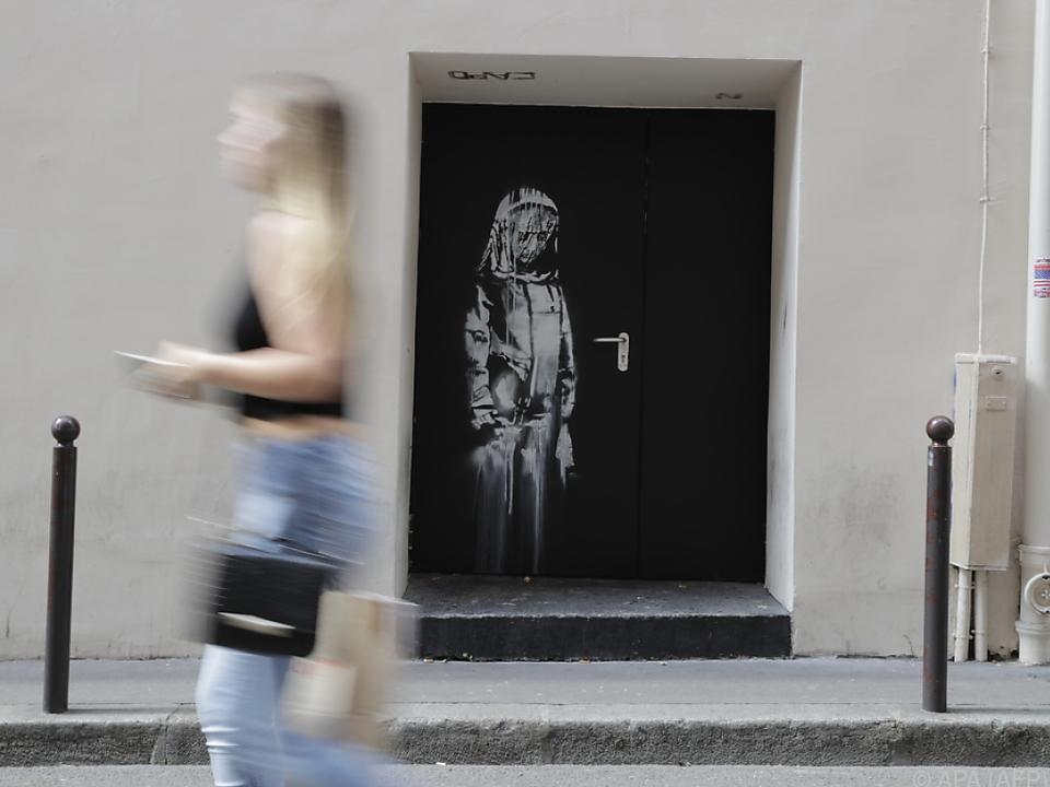 Ein Bild in einer Seitenstraße des Musikclubs \