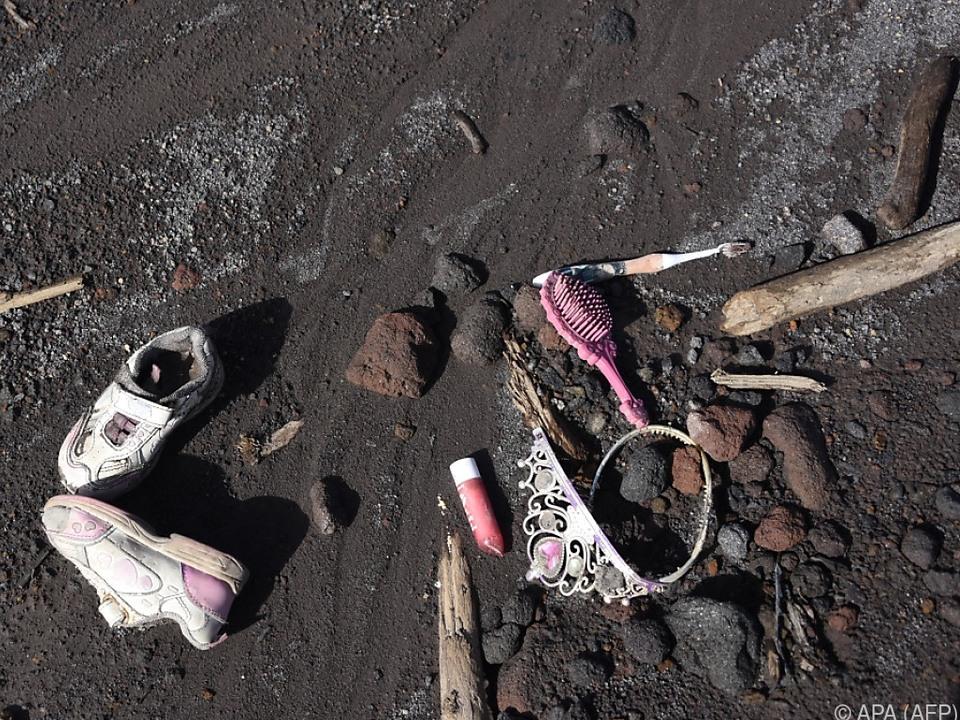 Ein Fortsetzen der Suche nach Opfern des Vulkans wäre zu gefährlich