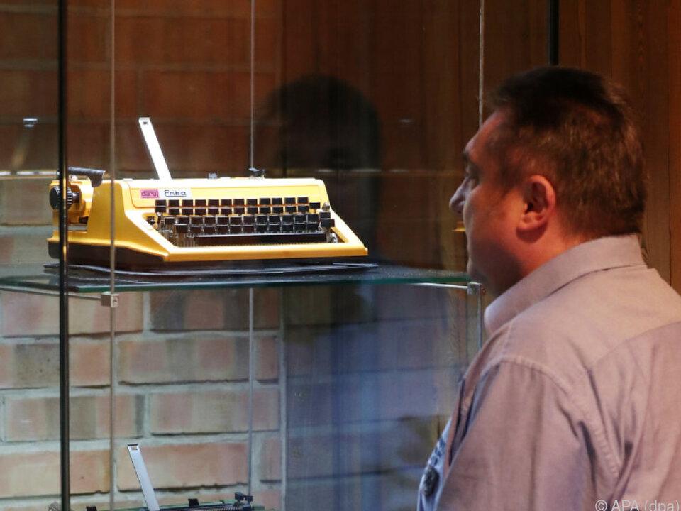 Schreibmaschinen revolutionierten den Schriftverkehr