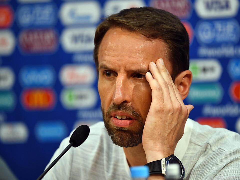 England-Coach Gareth Southgate