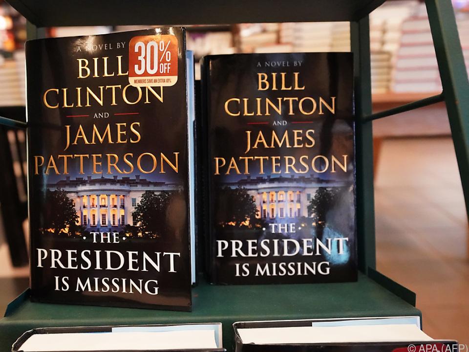 Ex-US-Präsident Clinton ist unter die Romanautoren gegangen