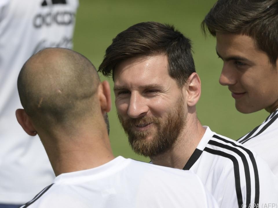 Geburtstagskind Messi ist trotz allem immer noch guter Dinge