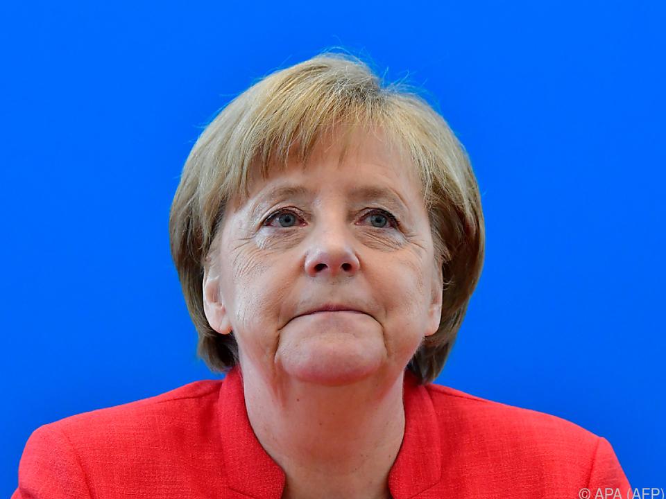 Gedämpfte Erwartungshaltung bei Angela Merkel