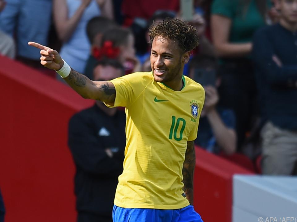 Gelungenes Comeback für Neymar