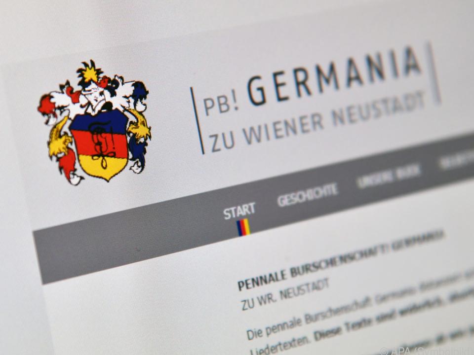 Germania sorgte für Skandal