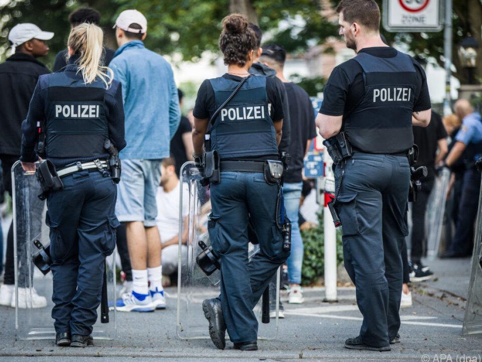 Gewalt nach Musikfestival in Darmstadt
