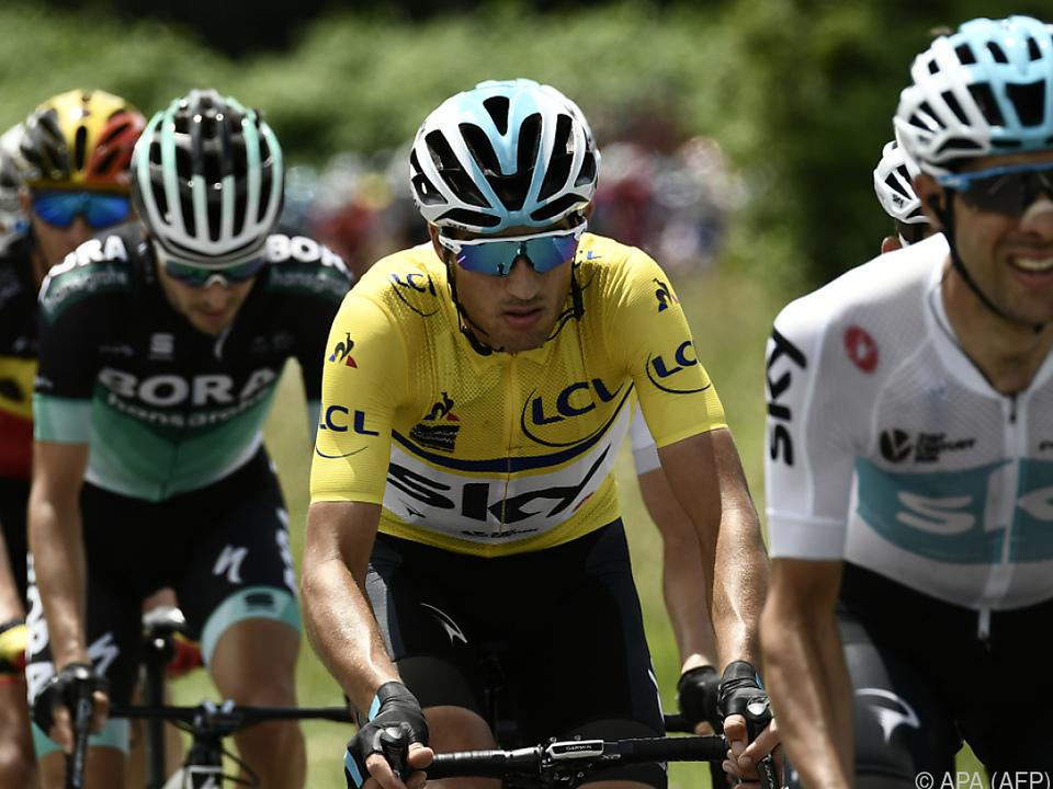 Gianni Moscon konnte das Gelbe Trikot nicht verteidigen