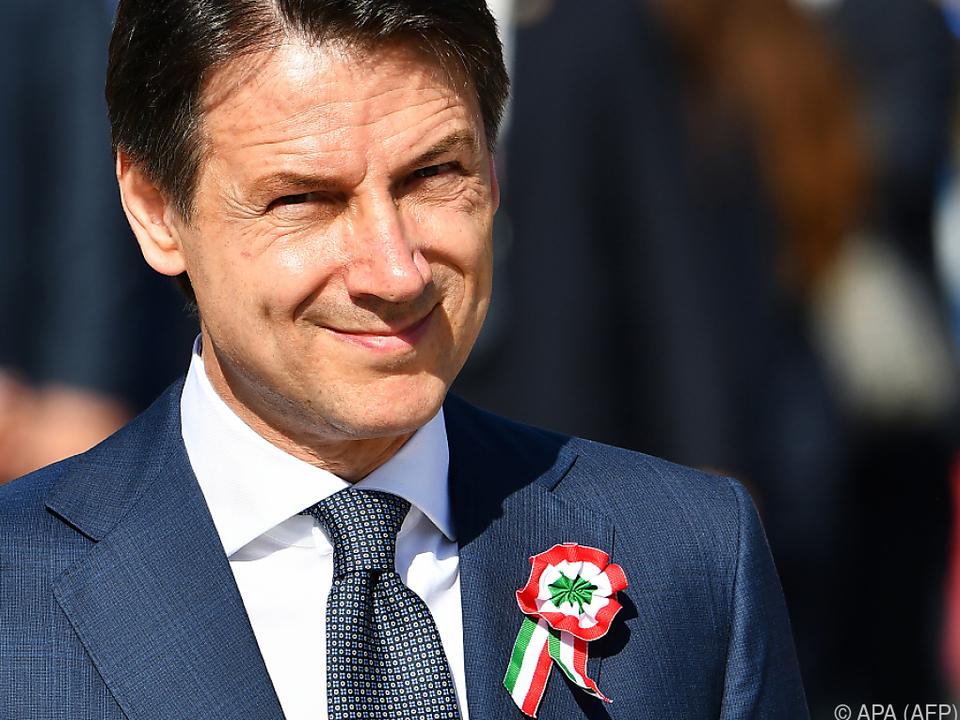 Giuseppe Conte steht vor einer schwierigen Aufgabe