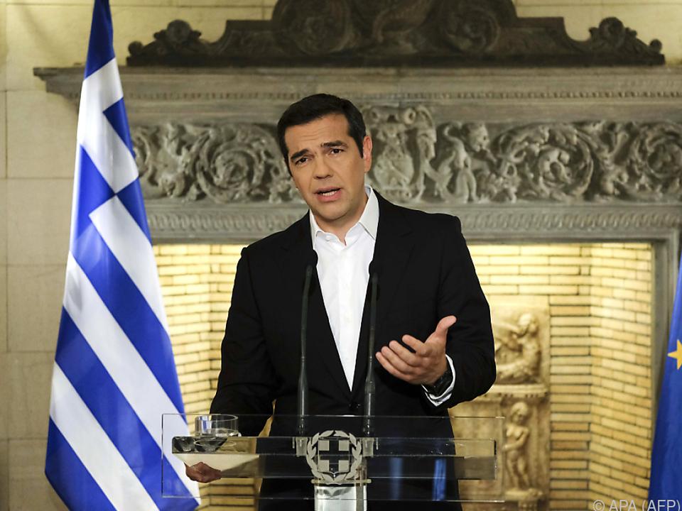 Griechischer Ministerpräsident Alexis Tsipras