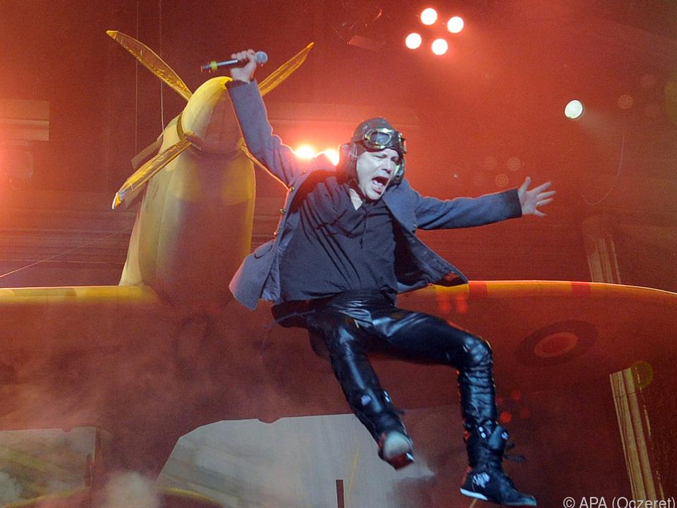 Große Show bei Iron Maiden