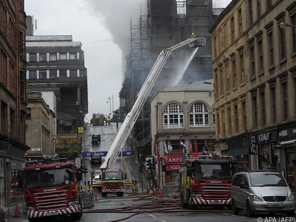 Großeinsatz für 120 Feuerwehrleute