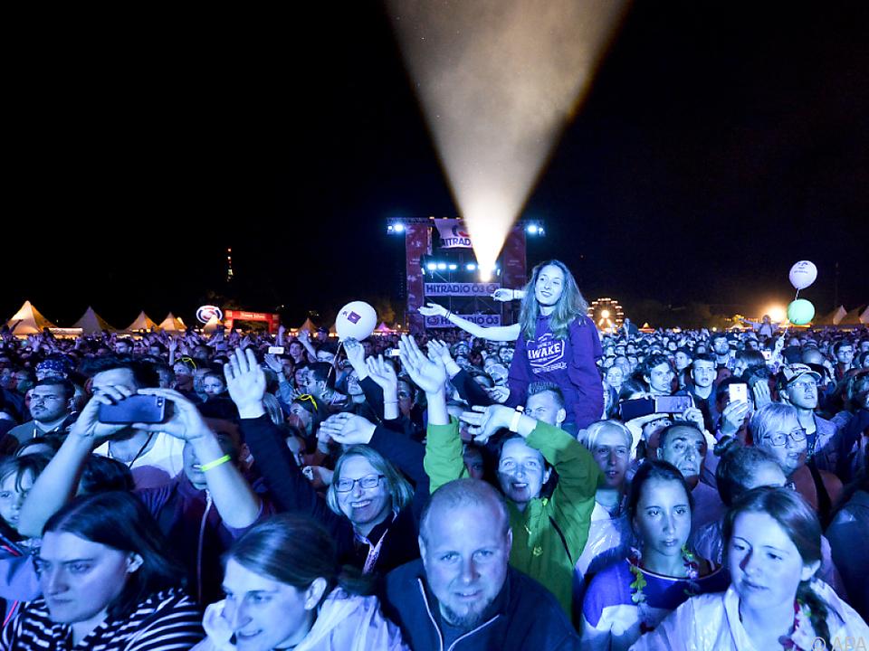 Großer Andrang beim Donauinselfest