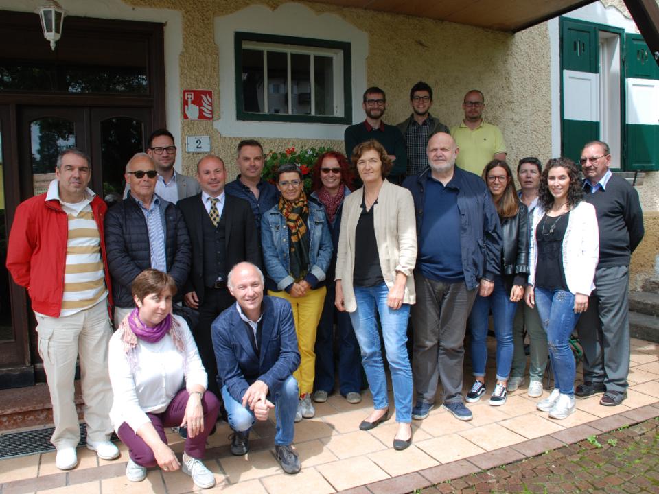 Gruppenfoto foto di gruppo