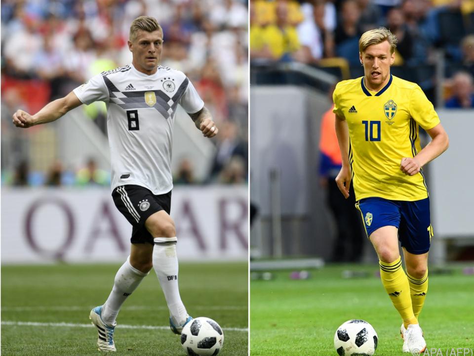 Gruppenphasen-Hit Schweden gegen Deutschland