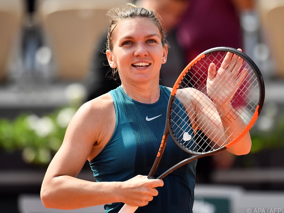 Halep drehte ihr Viertelfinale gegen Angelique Kerber