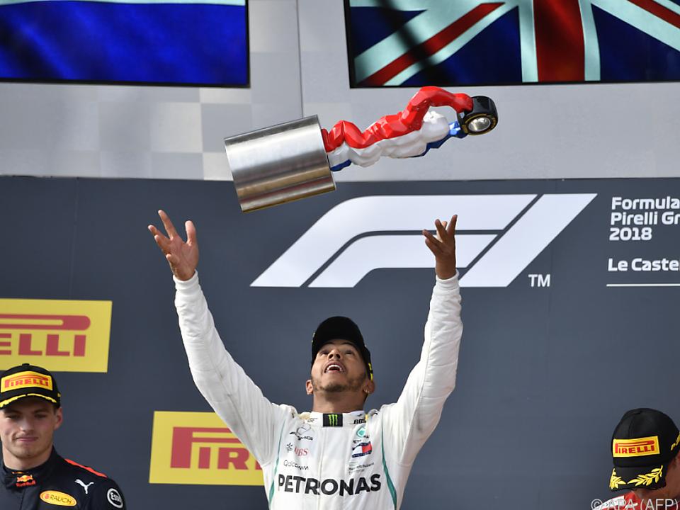Hamilton übernahm mit Sieg auch die WM-Führung