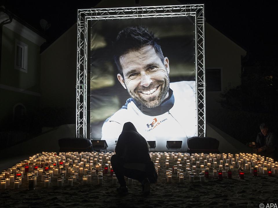 Hannes Arch war 2016 bei dem Absturz ums Leben gekommen
