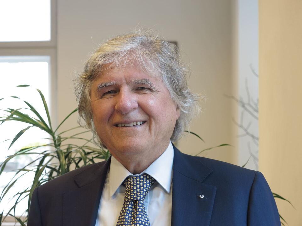 Herbert Arquin_Präsident SMV