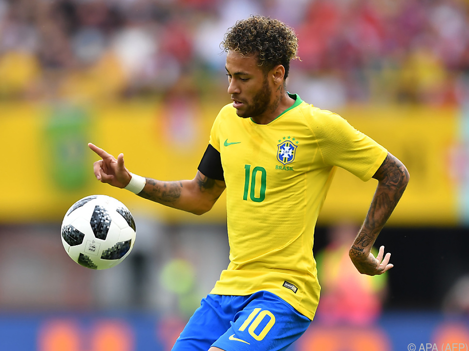 Hohe Erwartungen an Neymar und Kollegen