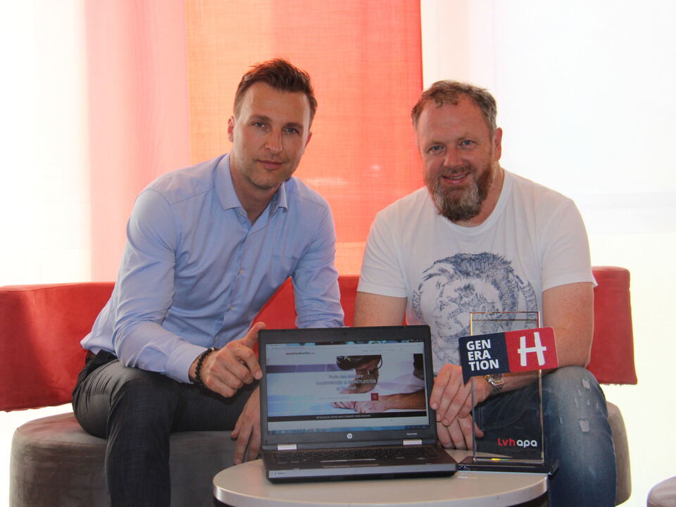 Michael Hölzl und Gert Lanz