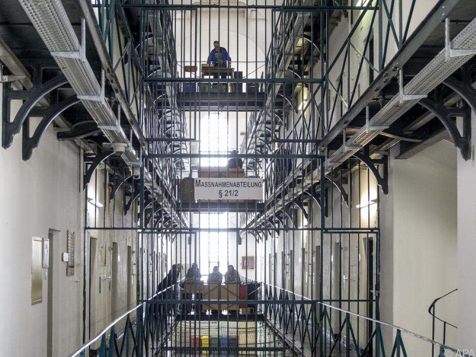 Innenansicht der Strafanstalt