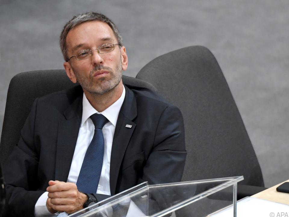 Innenminister Kickl möchte die Übung am 25. Juni durchführen