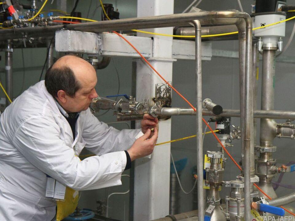 Internationale Atomenergiebehörde wurde über Absichten informiert