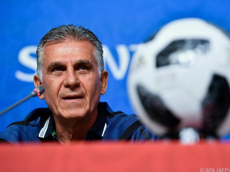 Iran-Coach Carlos Queiroz: \