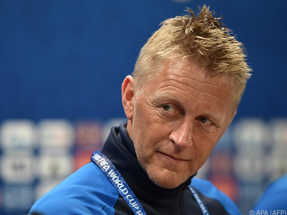 Island-Coach Hallgrimsson bleibt Optimist