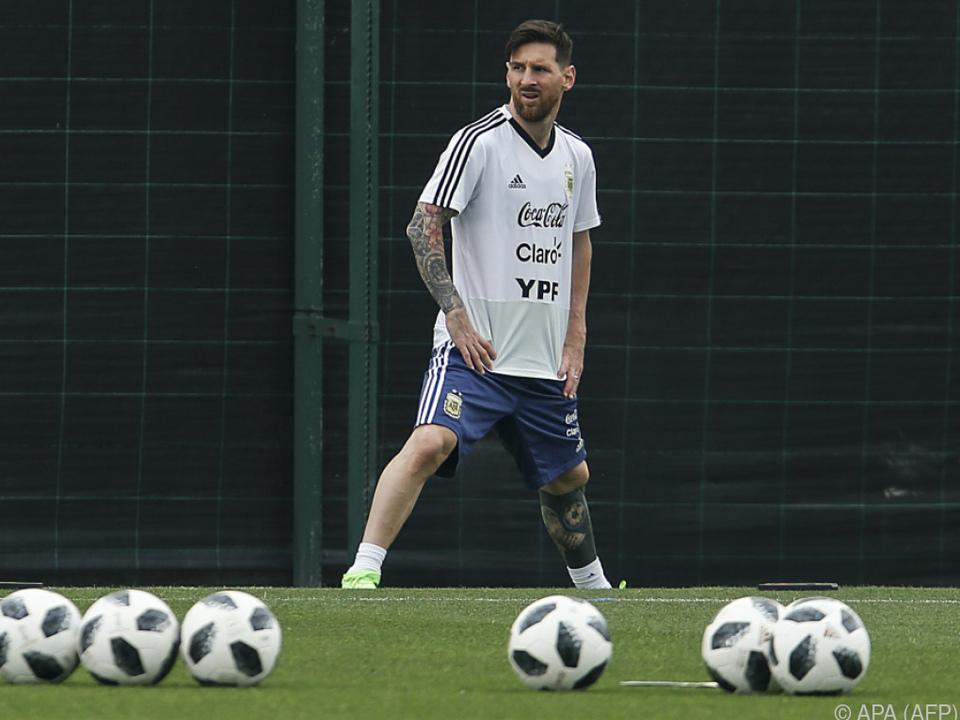 Israelische Fans freuten sich umsonst auf Superstar Messi