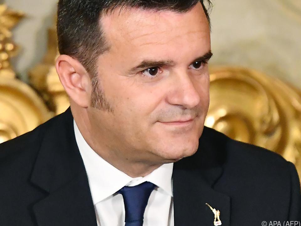 Italiens Landwirtschaftsminister Gian Marco Centianaio