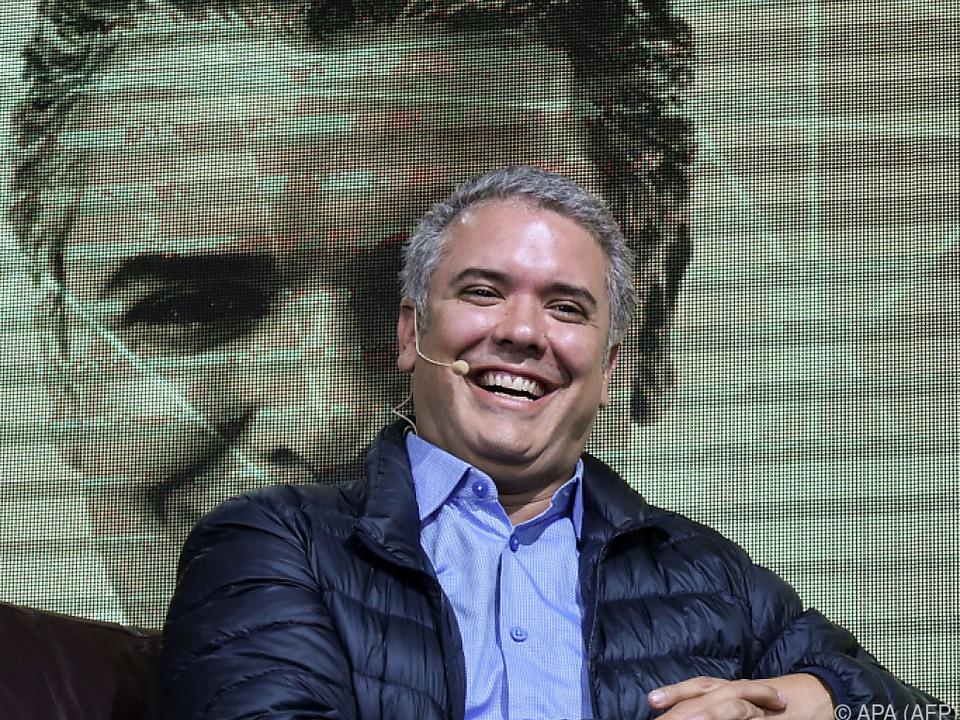 Ivan Duque gilt als Favorit