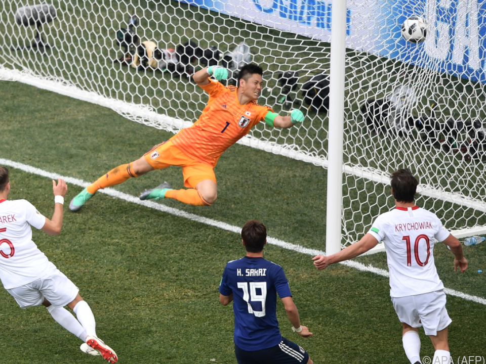 Jan Bednareks Tor zum 1:0 für Polen ändert nichts am Ausfstieg Japans