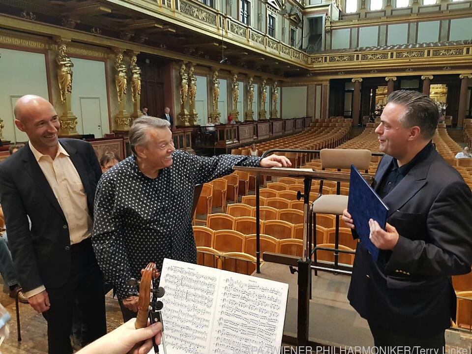 Jansons ist nun auch offiziell ein Wiener Philharmoniker
