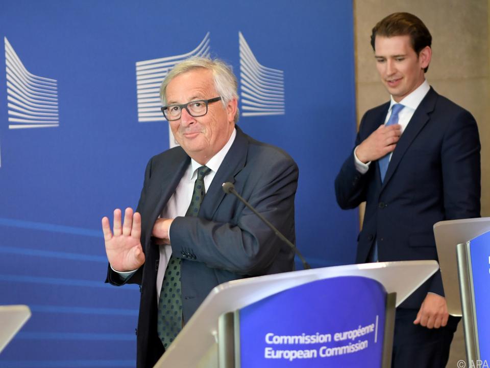 Juncker will ebenfalls Grenzen dicht machen