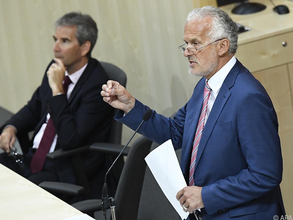 Justizminister Moser bekommt vor allem von NGOs Kritik
