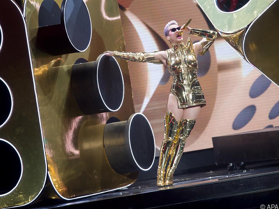 Gesanglich blieb Katy Perry aber hinter den Erwartungen