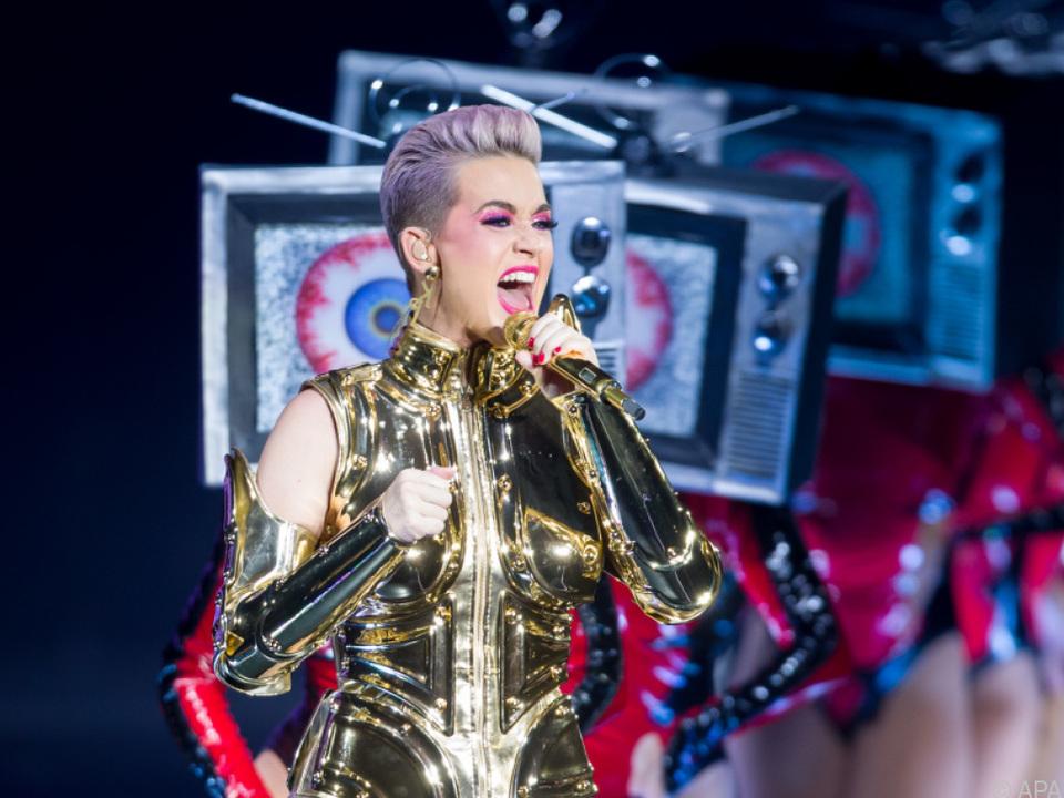 Katy Perry servierte optische Leckerbissen