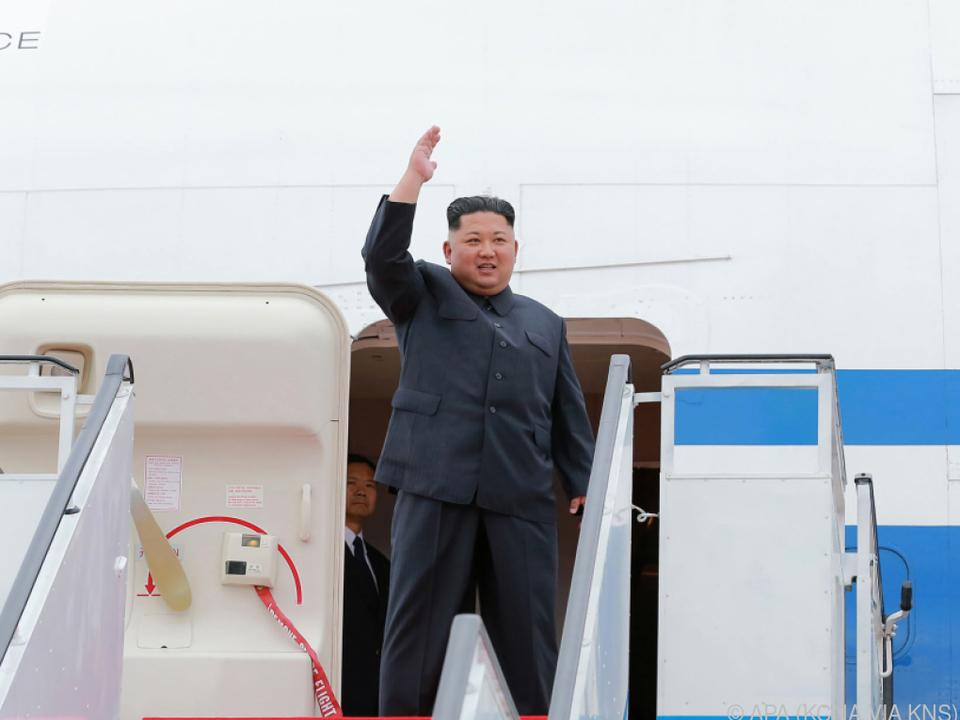 Kim hofft im Gegenzug auf internationale Anerkennung