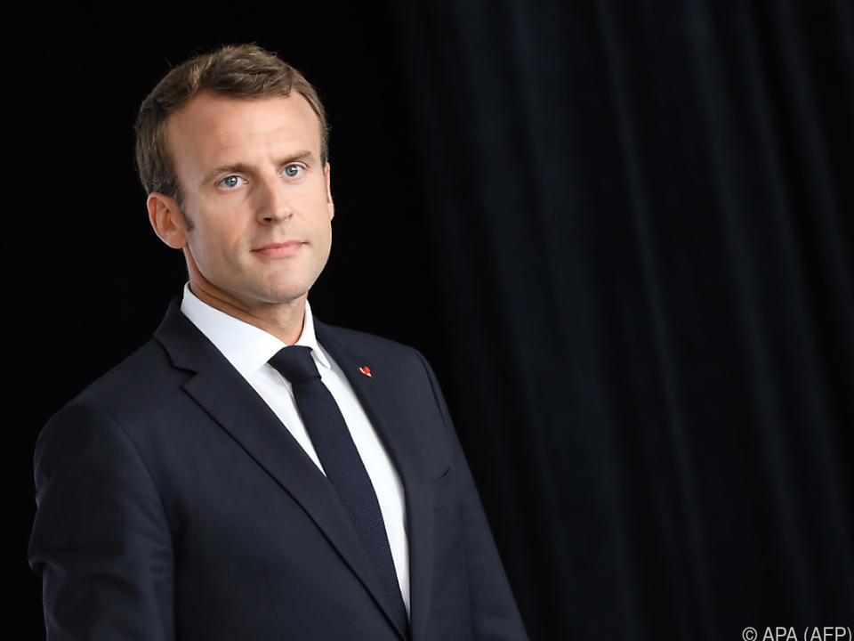 Klare Worte des französischen Präsidenten