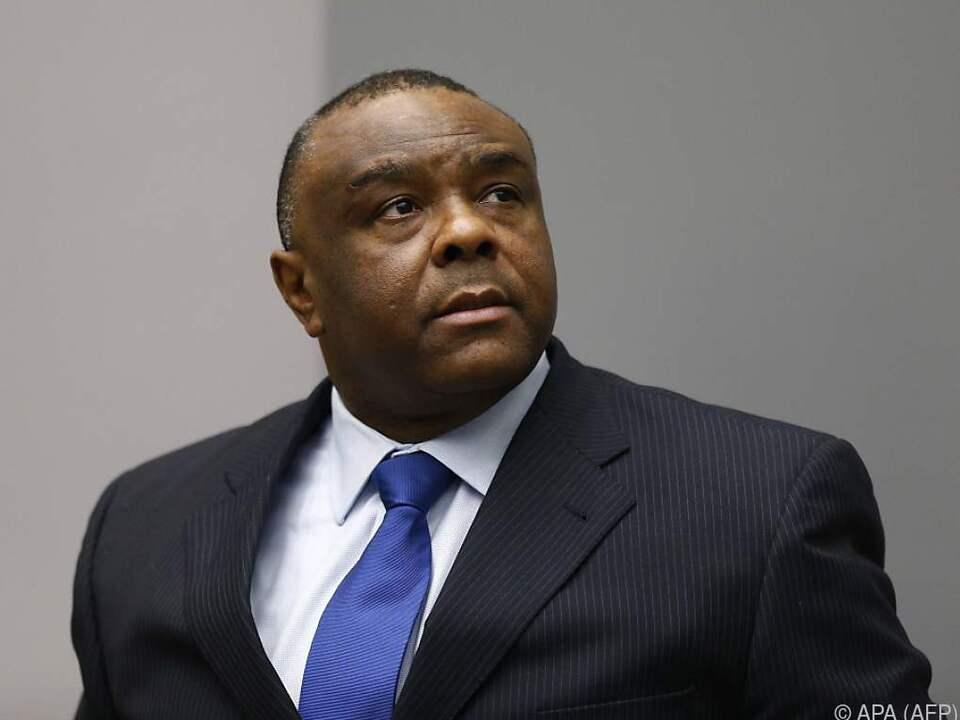 Kongos Ex-Vizepräsident Jean-Pierre Bemba in Den Haag