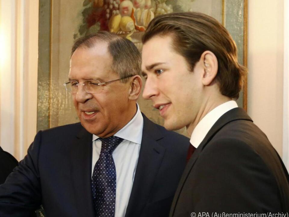 Lawrow und Kurz sprachen am Telefon u.a. über EU-Ratsvorsitz